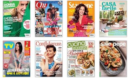Abbonamenti a riviste mondadori abbonamenti riviste for Cucina moderna abbonamento