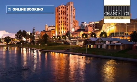 Adelaide, CBD: 1 or 2 Nights for Two with Late Check-Out at Hotel Grand Chancellor Adelaide on Currie
