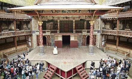 Shakespeare's Globe Exhibition and Tour on 5 September - 22 October (Up to 33% Off)