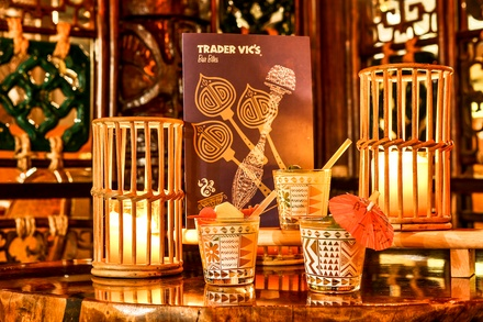 Three-Course Meal with Drink for Two at Trader Vics at London Hilton (Up to 48% Off) (London)