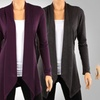 Draped Hacci Cardigans (3-Pack). Available in Plus Sizes