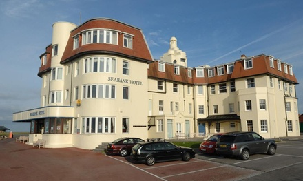 Coastal Wales: 1 or 2 Nights for Two with Breakfast and Dinner at the Seabank Hotel