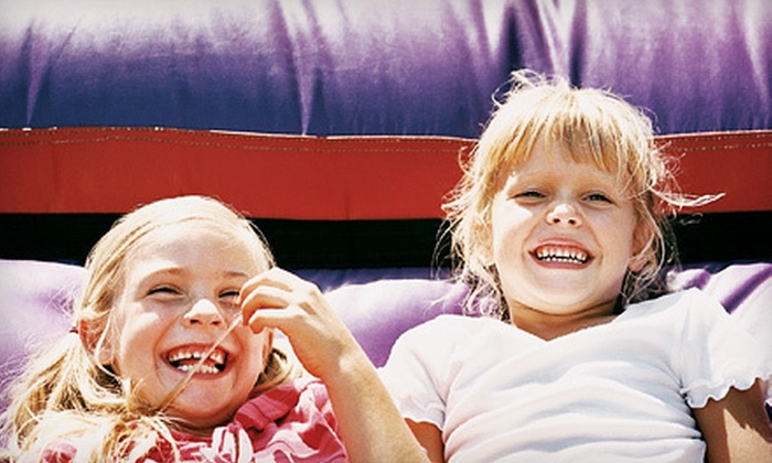Kidz Zoom - East Highland Park: Three or Five All-Day Bounce Passes or a Two-Hour Birthday Package for Up to 15 at Kidz Zoom (Up to 53% Off)