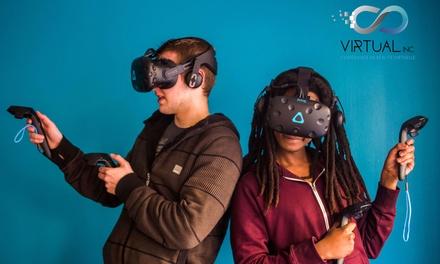 1 session d'escape game en réalité virtuelle d'1h pour 4, 5 ou 6 personnes dès 59,90 € chez Virtual Incorporation