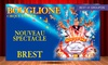 Cirque d'hiver Bouglione - Parc à chaines: 1 place pour adulte ou enfant catégorie et date au choix pour la Tournée 2017 du cirque d'hiver Bouglione dès 10 €