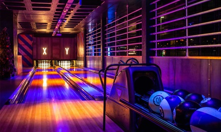 Bowling with Pizza and Cocktail for Two, Four or Six at Roxy Lanes