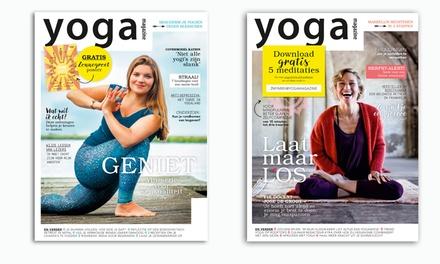 6 nummers Yoga Magazine je abonnement stopt automatisch