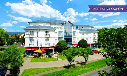 Węgry: 1-10 nocy z wyżywieniem, spa, wypożyczeniem rowerów i więcej w Kristály Hotel nad Balatonem