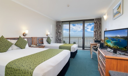 Cairns: 1-5 Nights for Two People with Wine, Dinner Voucher, Late Check-Out and Optional Brekky at Acacia Court Hotel