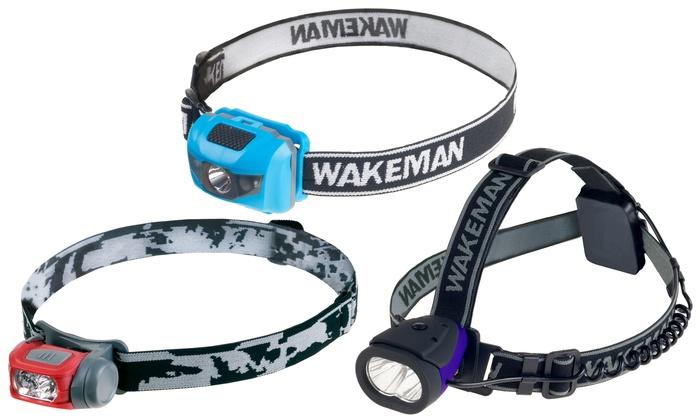 Wakeman Lightweight LED Headlamps