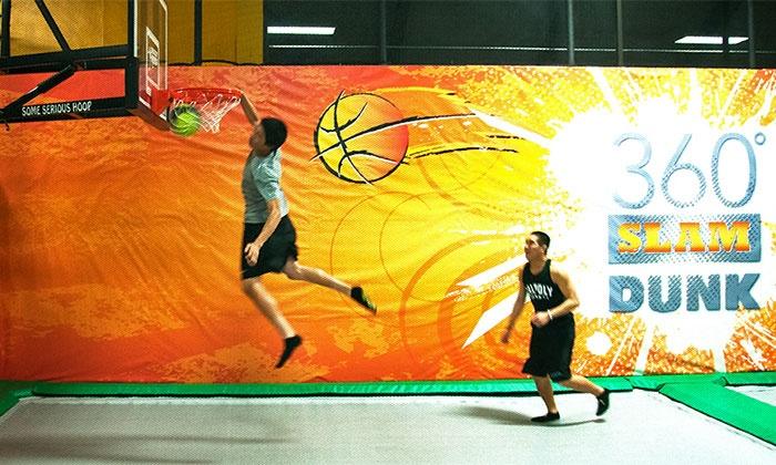 Rockin' Jump - Bonita: Indoor Trampoline Park at Rockin' Jump (33% Off)