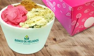 La Fábrica: $99 por 1 kilo de helado artesanal en La Fábrica. Elegí sucursal