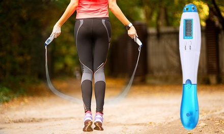 One or two Calorie Counting Skipping Ropes