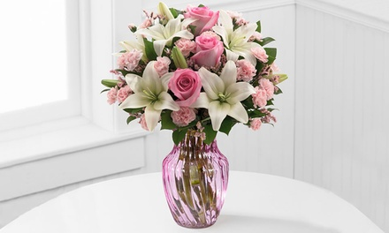 Mother's Day Flowers and Vase from FTD.com (60% Off). Shipping Not Included.
