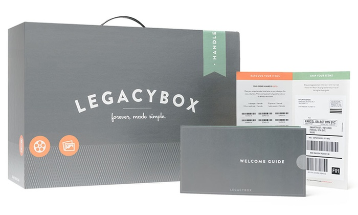 Legacybox: Media-Digitizing Services By Mail from Legacybox (Up to 62% Off). Three Options Available.