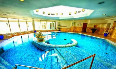 Acqui Terme: Grand Hotel Nuove Terme 4*, fino a 5 notti con colazione, mezza pensione o completa e spa di 800 mt per 2