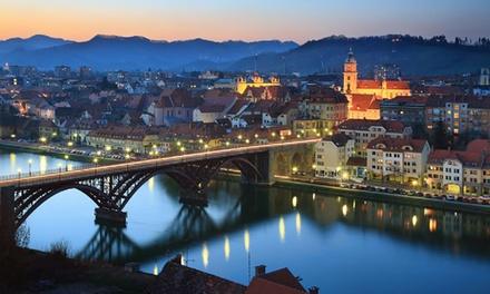 Slovenia: Maribor 1, 2 o 3 notti in camera doppia con colazione, bagno turco e sauna per 2 persone