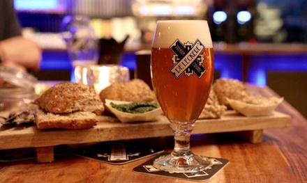 Vier speciaalbieren naar keuze incl. biologische worstenproeverij voor 2 6 personen bij Café Werkspoor in Utrecht