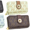 MMK Collection by WK Signature Logo Wristlet