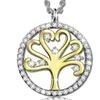 Tree of Life Pendant with Cubic Zirconia