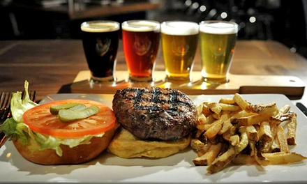 Beer Flights and Small Plates for Two or Four at Keenan House (Up to 51% Off)