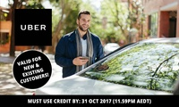 $5 for $10 (Existing) or $25 (New) to Spend on Your UBER Ride