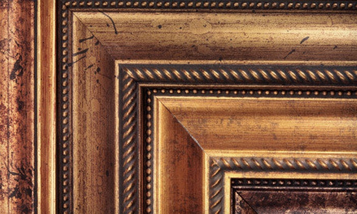 Plaza Artist Materials & Picture Framing - Multiple Locations: $40 for $100 Worth of Custom Framing at Plaza Artist Materials & Picture Framing