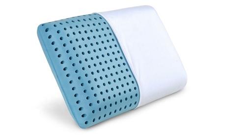 Cuscino in memory foam con microcapsule in gel rinfrescante