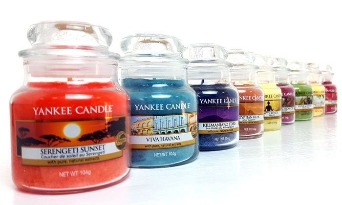 Six-Pack of Yankee Candle Assorted Small Jar Candles from £19.98
