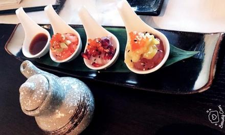 Menu sushi in strada Battaglia a 29,90€euro