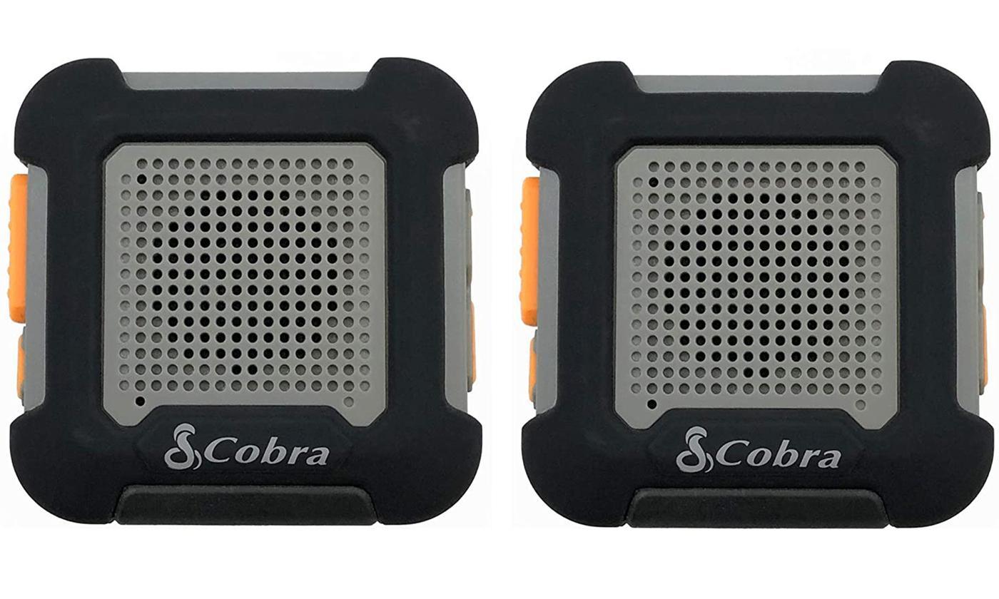 Set of Two Cobra Wearable Lightweight Walkie Talkie Tags