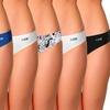 AQS Women's Seamless Bikini Underwear (6-Pack)