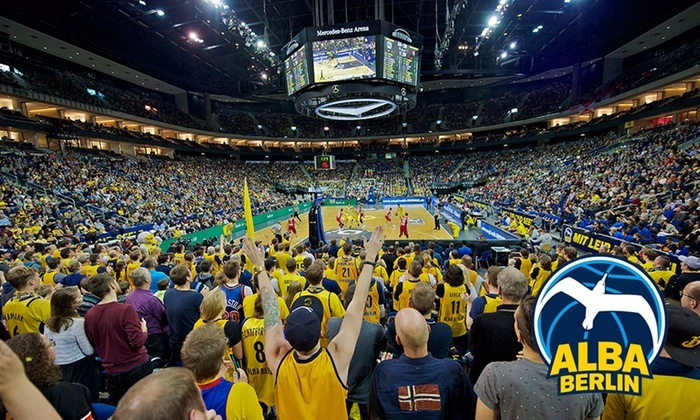 2 vip tickets f r alba berlin mercedes benz arena groupon for Mercedes benz stadium suite prices