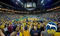 2 VIP-Tickets für ein ALBA BERLIN Heimspiel nach Wahl in der exklusiven Groupon VIP-Loge in der Mercedes-Benz Arena
