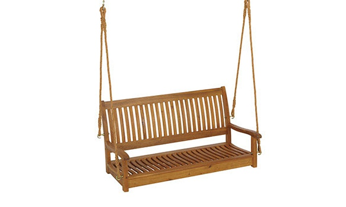 Gordons Ace Hardware (Gordon's Ace Hardware) - In-Store Pickup: $49 for a Wooden Rope Porch Swing for In-Store Pickup at Gordon's Ace Hardware ($139.99 Value)