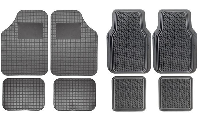 Set di 4 tappetini per auto
