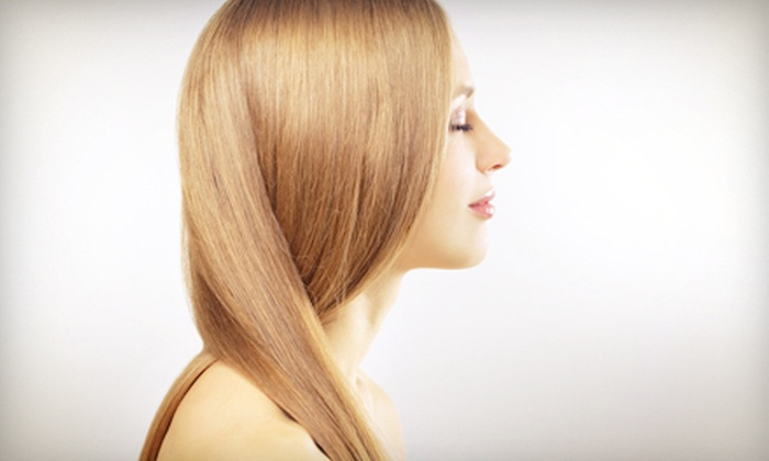 Alberto Ferreira Hair Studio - Park Of Commerce: $89 for a Keratin Hair Treatment at Alberto Ferreira Hair Studio (Up to $300 Value)