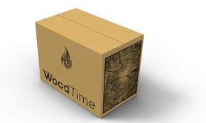 Wood Time: Levering van 2 kisten brandhout naar keuze of van het volledige trio vanaf € 49,99 met Wood Time