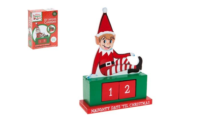 Christmas Counter.Christmas Countdown Calendar Groupon Goods
