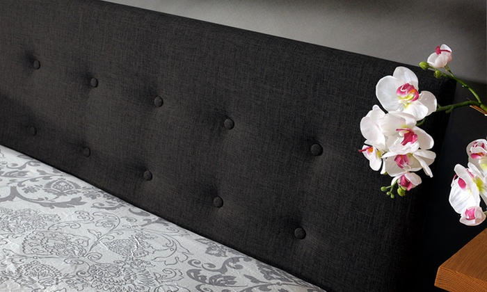 Fabric Ottoman Storage Bed Groupon