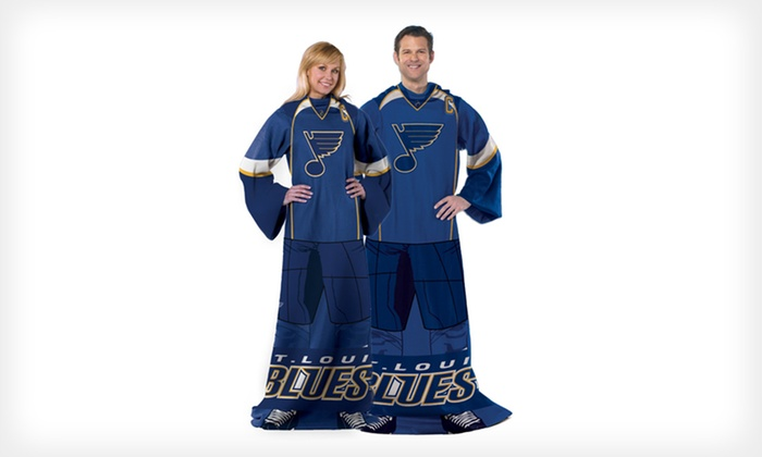 NHL Full-Body Fleece Throws: $14.99 for an NHL Full-Body Fleece Throw ($27.99 List Price). 10 Teams Available. Free Returns.