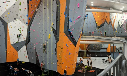 Deluxe Climbing Day Pass For One, Two, or Four at inSPIRE Rock (Up to 47% Off)