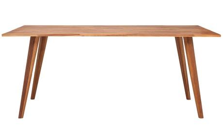 Mesa de comedor de madera de acacia