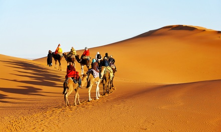 ✈ Marrakesh: Up to 4-Night Stay at a Choice of Hotels with Return Flights; with Option for Camel Caravan Tour*