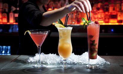 image for Four Cocktails for Two or Eight Cocktails for Four with Nibbles at Georgics Bar, The Millennium Hotel (Up to 52% Off)