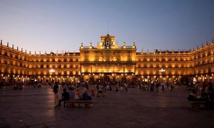 Salamanca: 1, 2 o 3 noches para 2 personas con desayuno, detalle y late check-out en Gran Hotel Castellano Centro