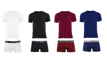 Pack de 2 boxers y camisetas para hombre Pierre Cardin