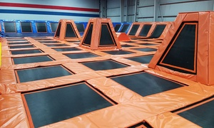 60-Minute Jump Passes at Sky Park Trampoline Park (Up to 60% Off). Six Options Available.