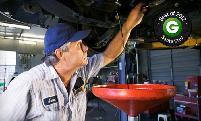 Extra Mile Repair - Santa Cruz: One Oil Change and Filter at Extra Mile Repair (62% Off)