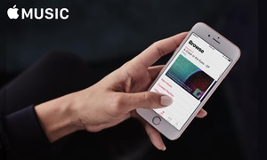 Free Three-Month Apple Music Subscription at Apple Music, plus 6.0% Cash Back from Ebates.